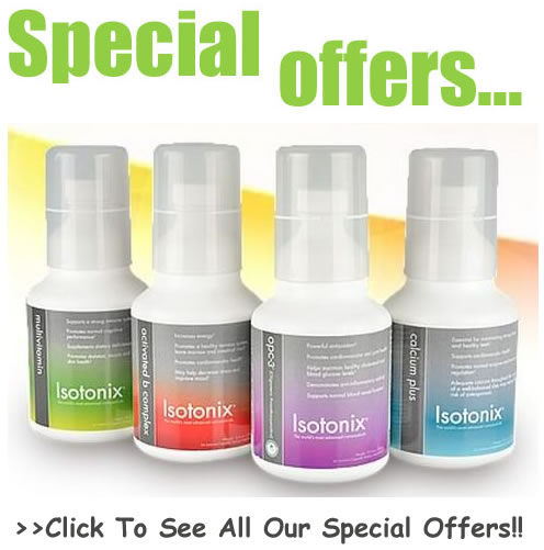 Click here for all our special offers!!